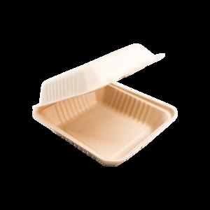 iK-ECDIN Clamshell Dinner White