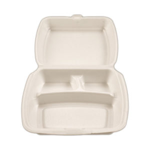 Foam Clam Dinner Pack 3 Compartment