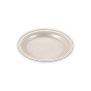 Plate Round White 7 inch