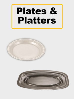 Platters, Cups & Plates